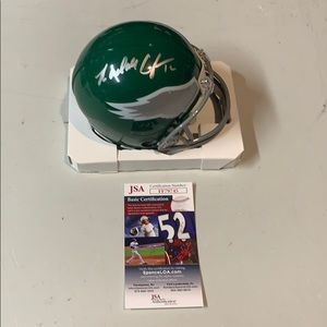 Other - Randall Cunningham Signed Eagles  Mini Helmet JSA
